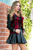 HOUSTON PLAID CONTRAST JACKET