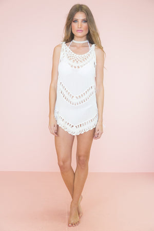 Lindie Crochet Detail Top - Haute & Rebellious