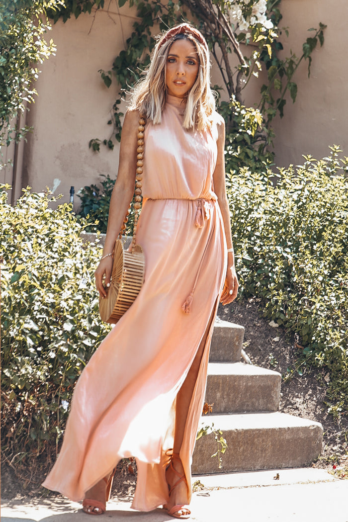 Forever Love Side-Slits Maxi Dress - Haute & Rebellious