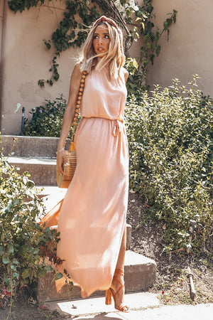 Forever Love Side-Slits Maxi Dress