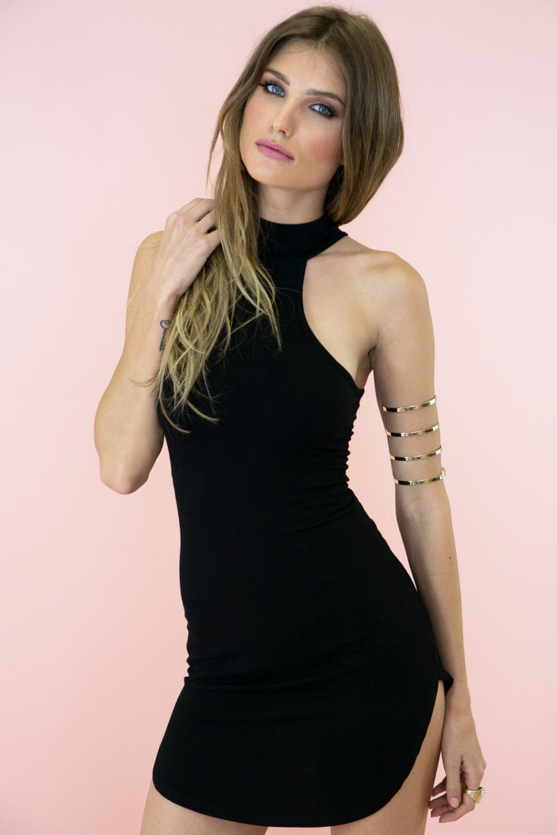 Alvina Turtleneck Dress - Haute & Rebellious