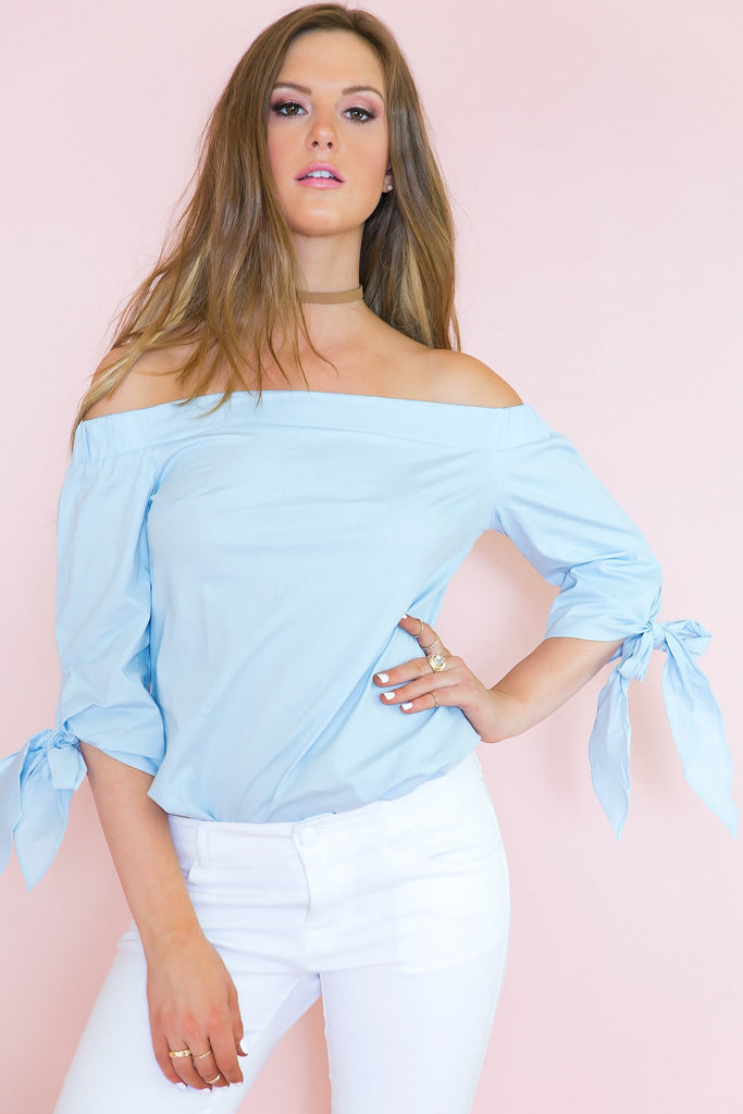 All I Want Off-Shoulder Top