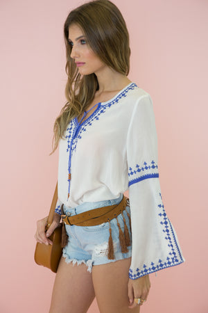 Pala Embroidered Tunic /// Only 1-L Left /// - Haute & Rebellious