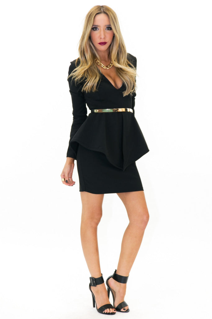 ESTER STRUCTURED DRESS