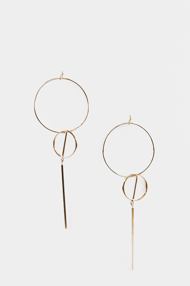Endless Life Geometric Earrings - Haute & Rebellious