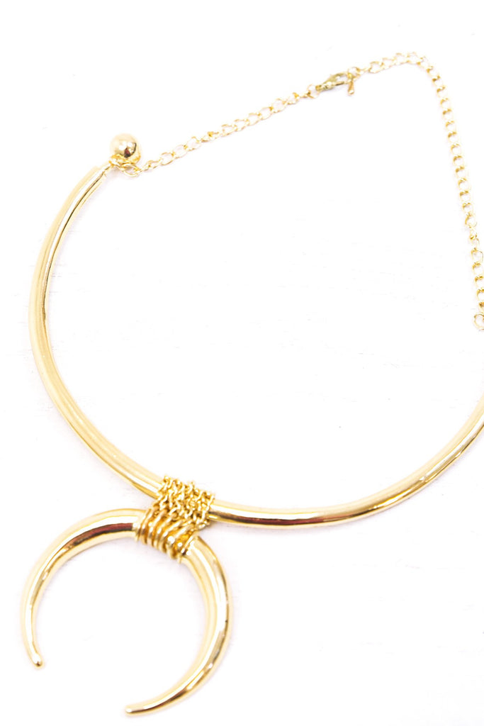 Maylyn Half Moon Necklace