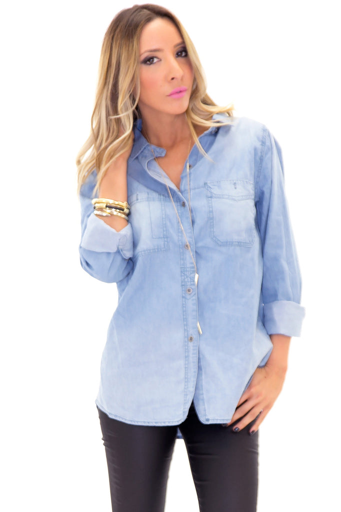 RALPH DENIM SHIRT