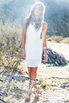 Jaden Knit Tank Dress - Haute & Rebellious