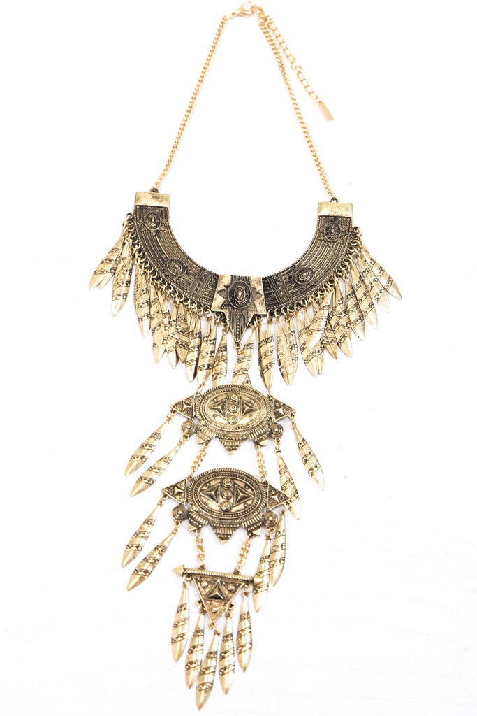 Habi Necklace  - Gold