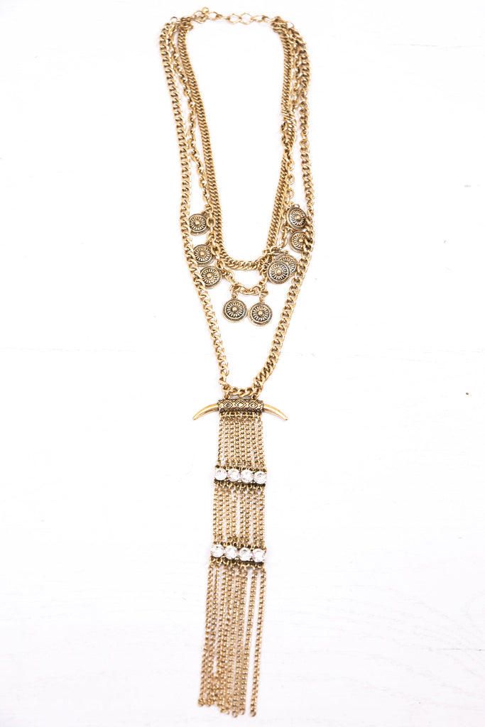 Tolula Necklace  - Gold