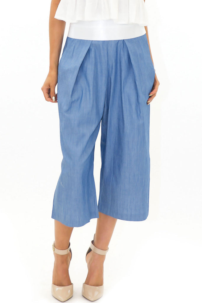 SASHA WIDE LEG CROP PANT