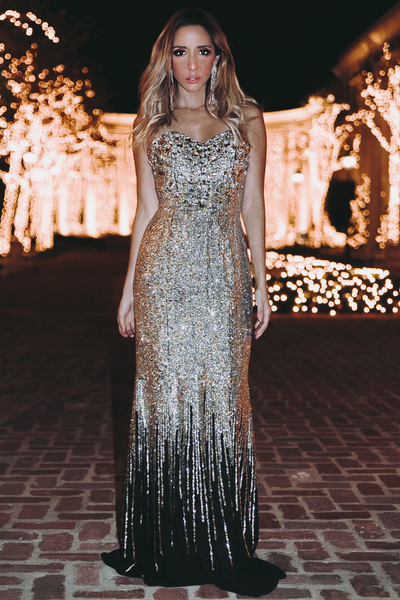 Sequin Gown