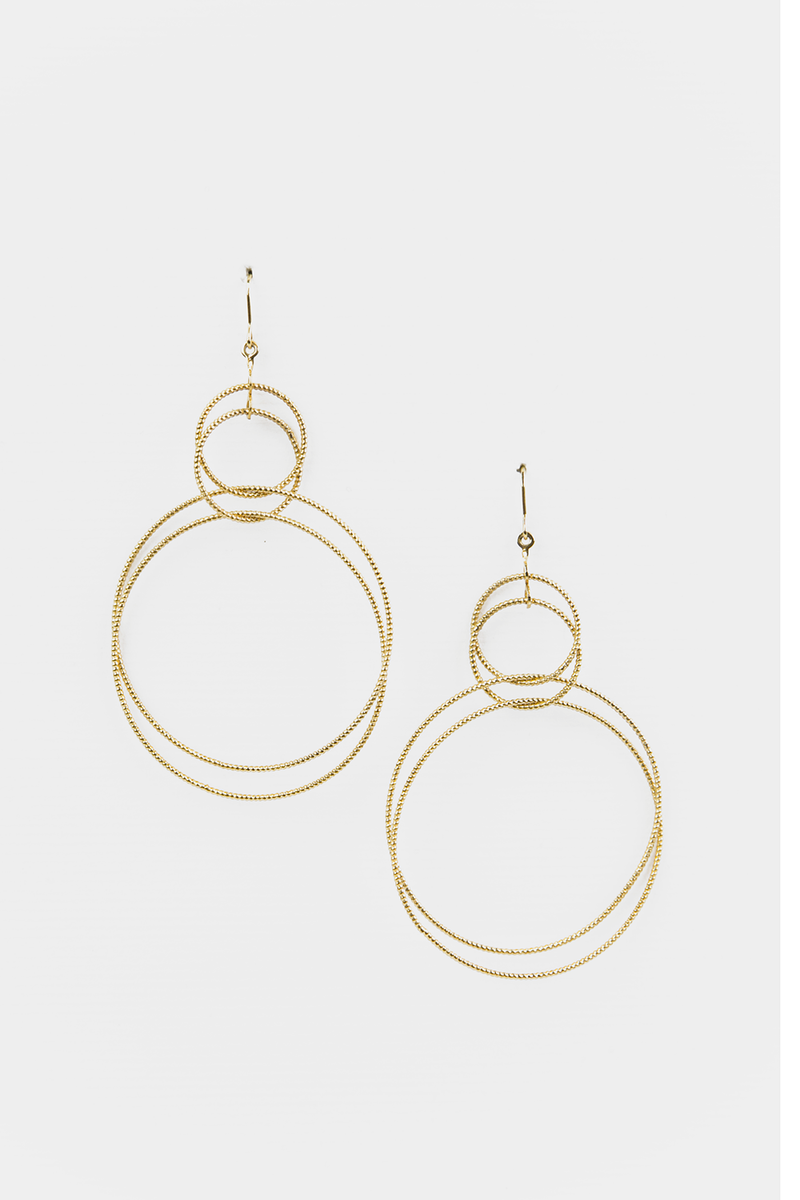 Geometric Double Earrings - Haute & Rebellious