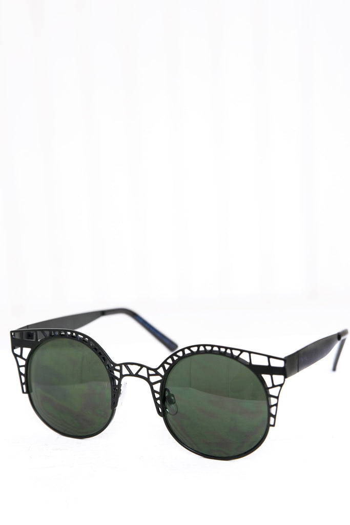 Celina Cutout Shades - Black - Haute & Rebellious