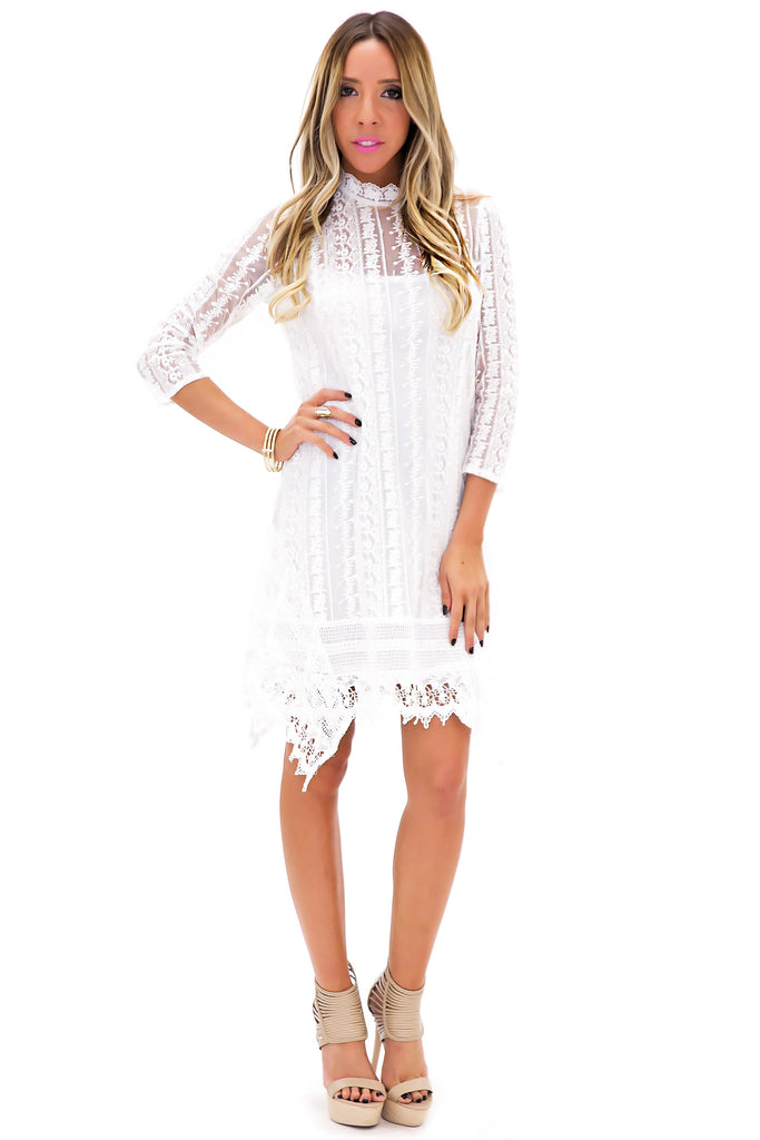 SOPHIA LACE DRESS