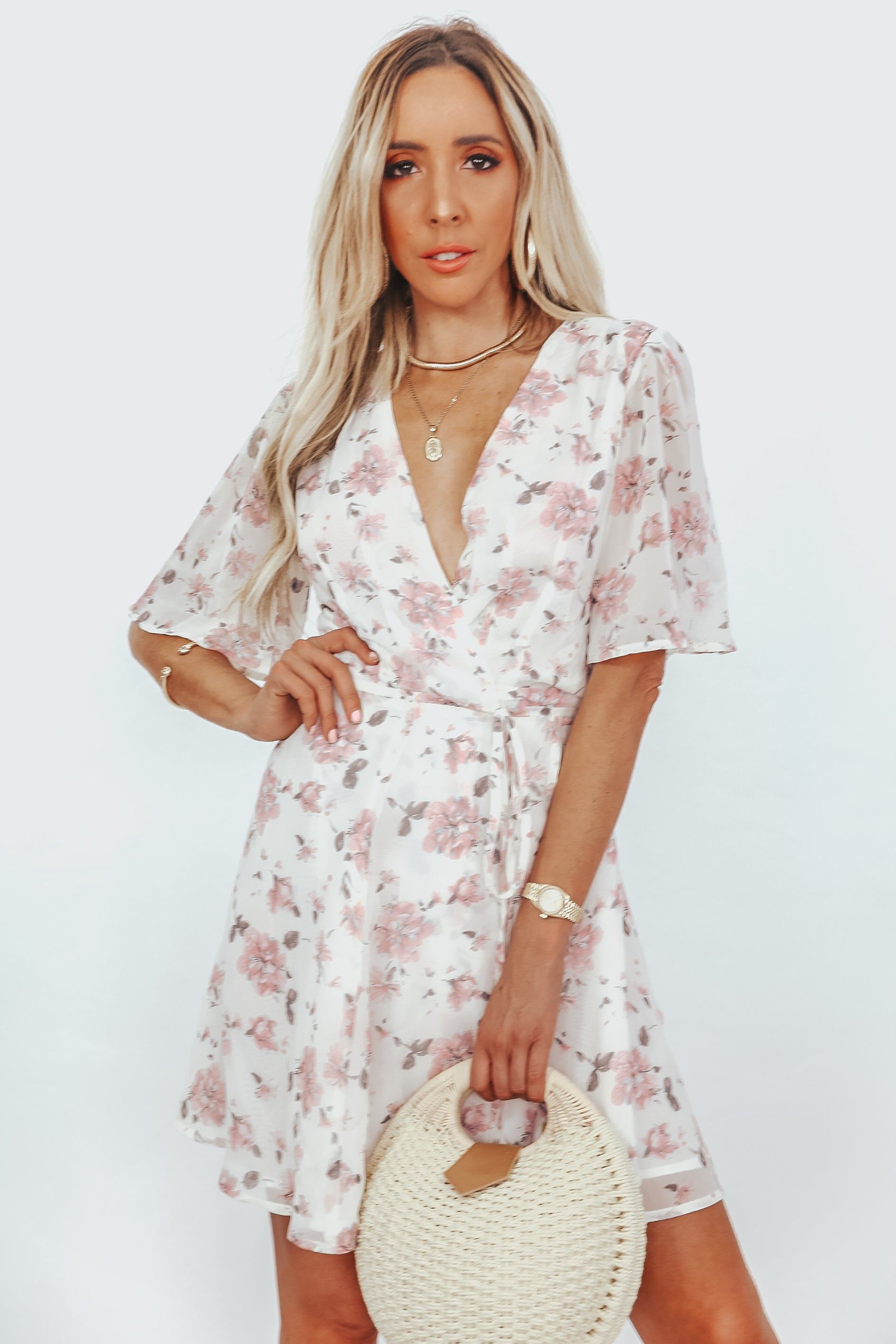 Blossom Reform Wrap Dress