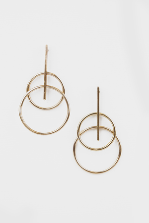 Minimal Mood Earrings - Haute & Rebellious