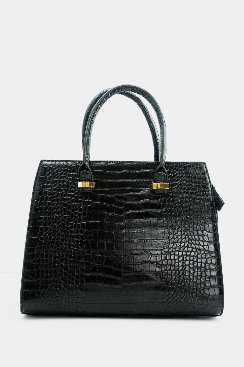 Marsha Alligator Handle Tote - Haute & Rebellious