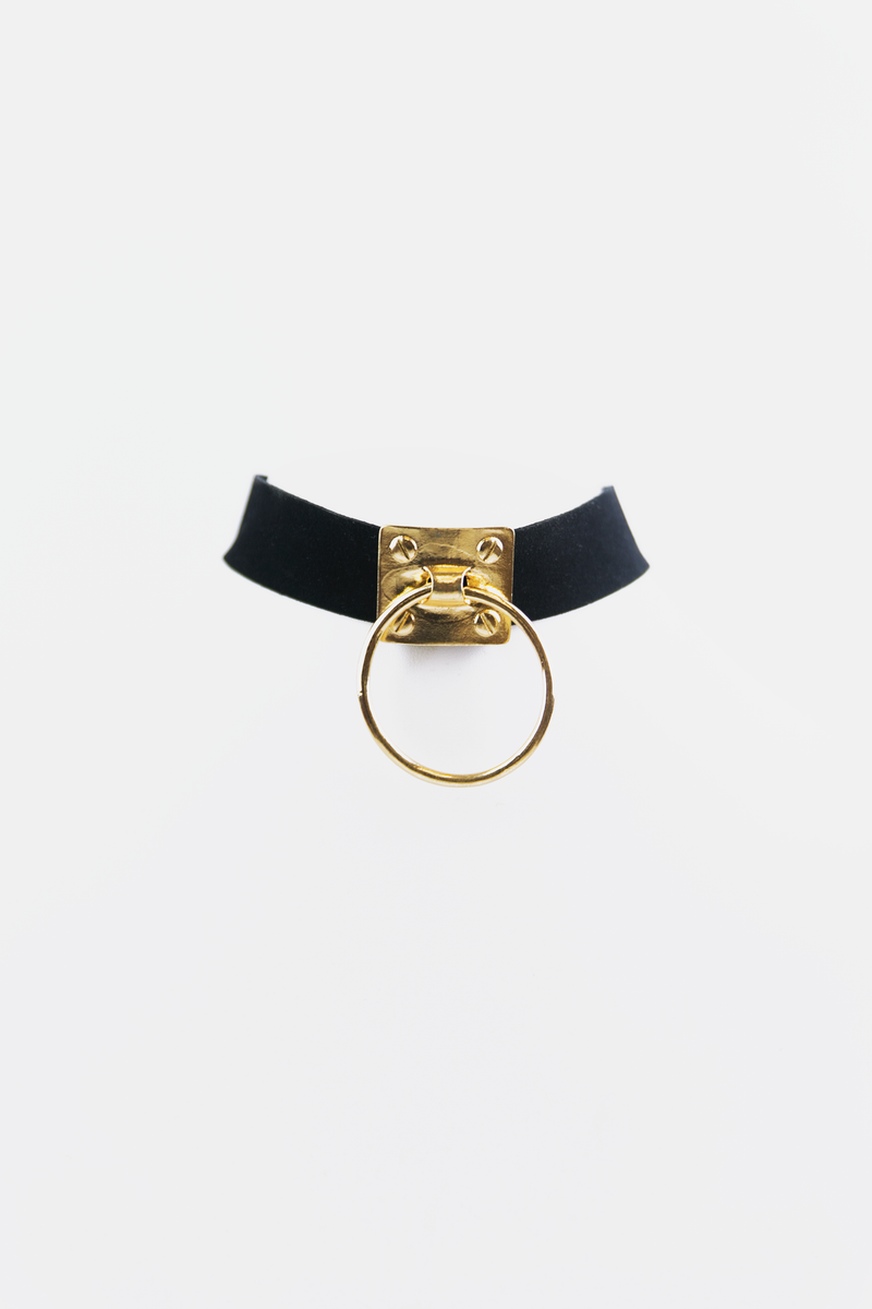 In Control Ring Choker - Haute & Rebellious