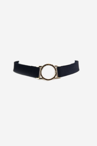 Black Satin Choker