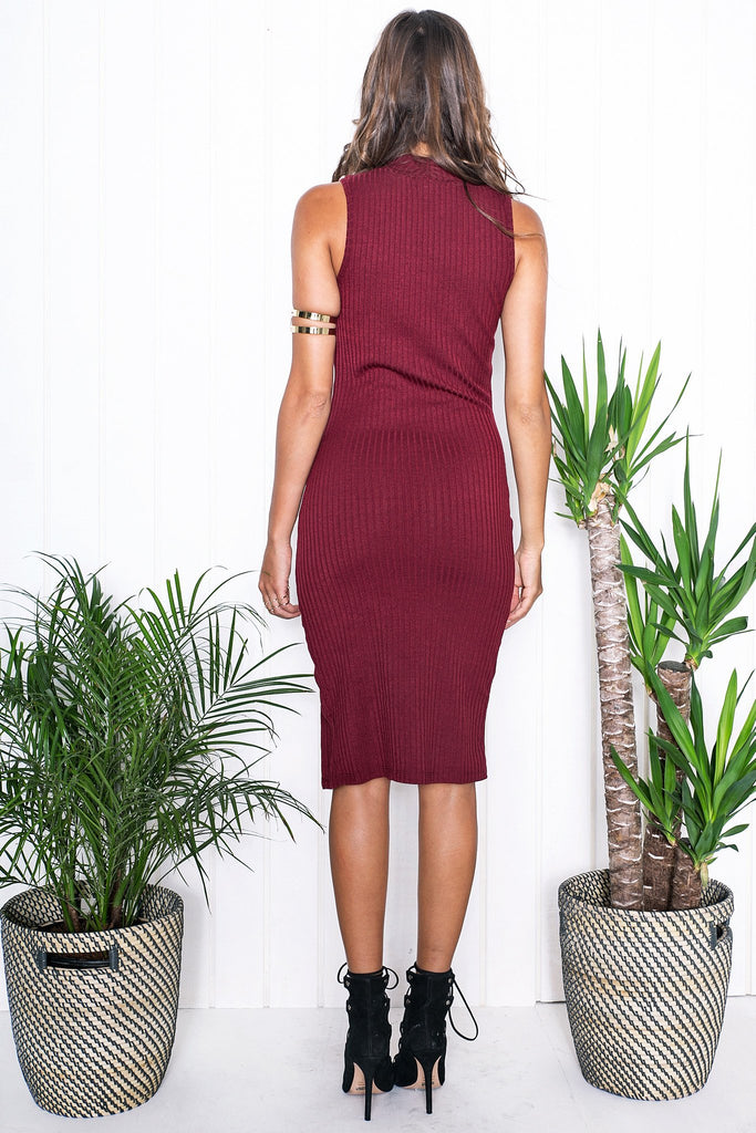 Kanya Sleeveless Midi Dress