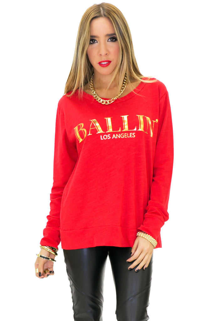 BALLIN LOS ANGELES LONG SLEEVE TEE