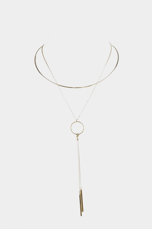 Minimalistic Long Necklace - Haute & Rebellious