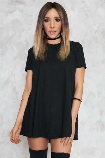 Basically Perfect Tunic - Black /// Only 1-L Left ///