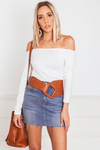 Statement Belt - Brown