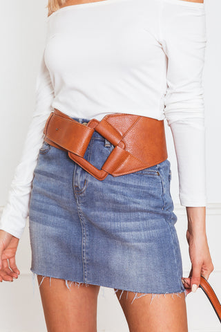 Anisa Leather Concho Belt