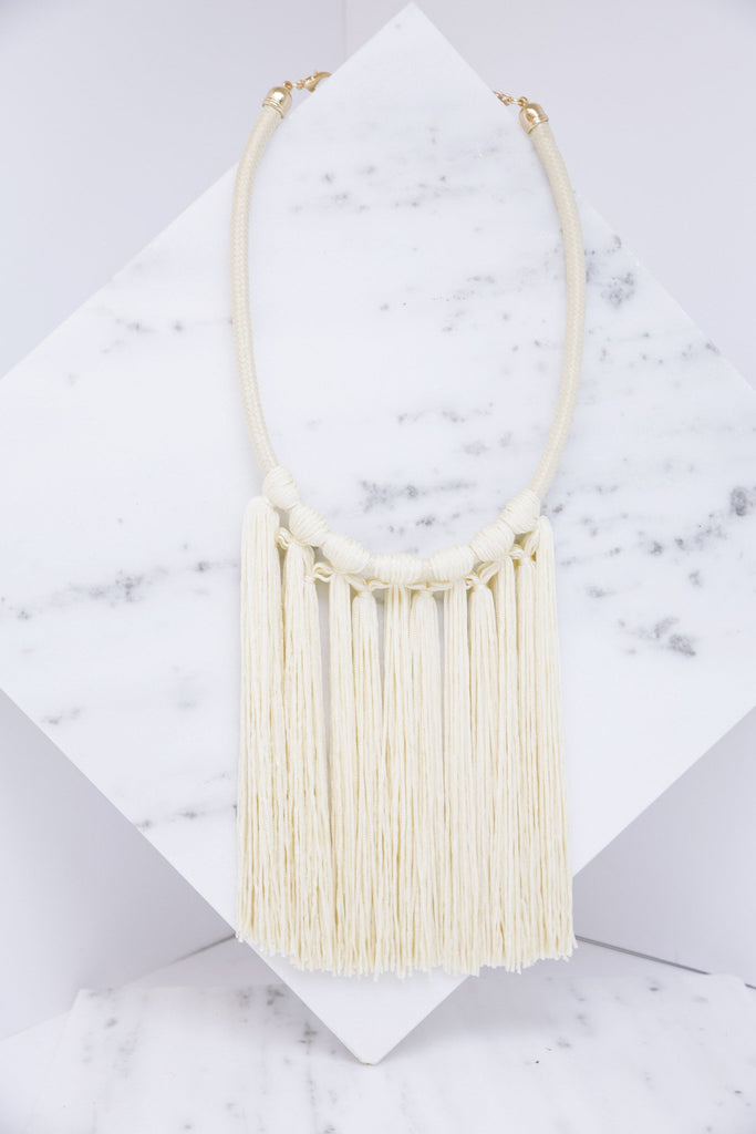 Lani Fringe Necklace