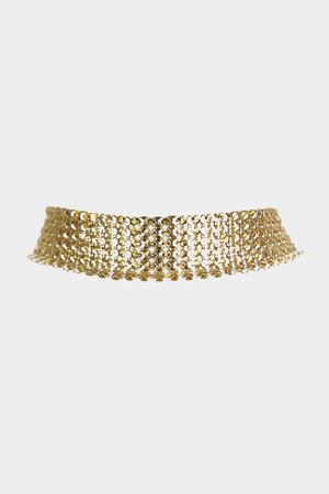 Chainmail Metal Choker - Haute & Rebellious