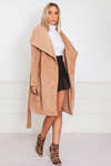 Super Plush Trench Coat