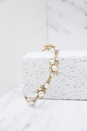 Angelica Pearl & Crystal Headband - Haute & Rebellious