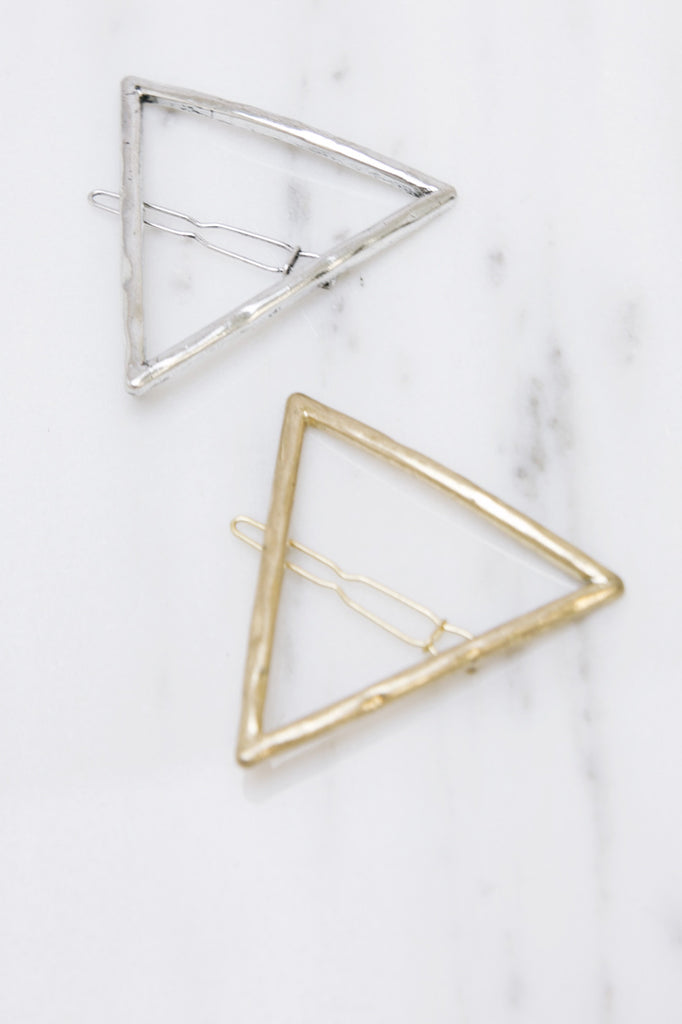 Triangle Hair Clip Set