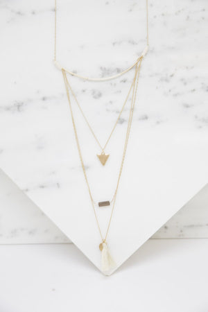 Nartz Layered Necklace - Haute & Rebellious