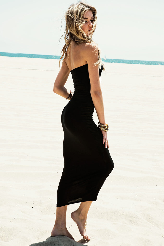 Jenna Strapless Maxi Dress