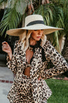 Large Flat Brim Straw Hat