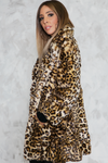 Into The Wild Leopard Faux Fur Coat - Haute & Rebellious