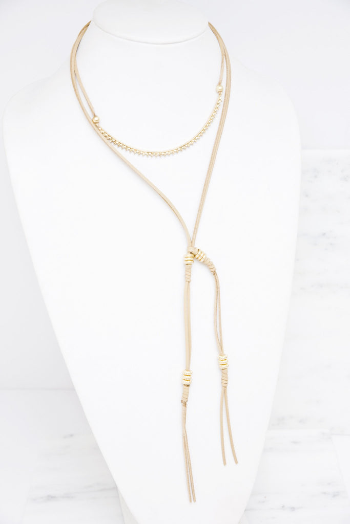 In To Ropes Necklace