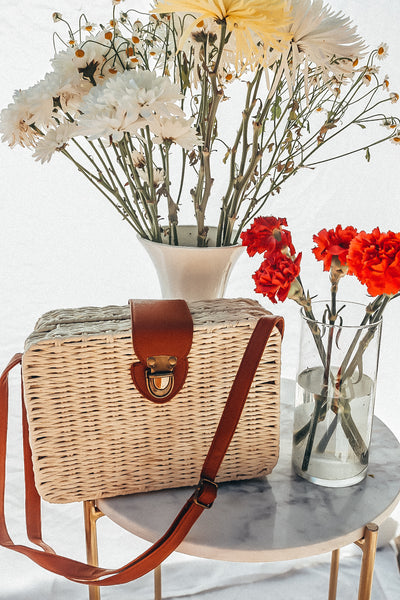 Square Basket Bag