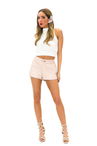 LEYLAND KNIT CROP TOP - Haute & Rebellious