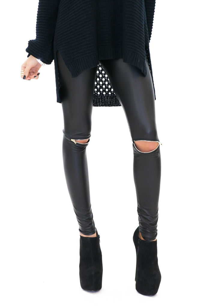 HANZER ZIPPERED SLICK LEGGING