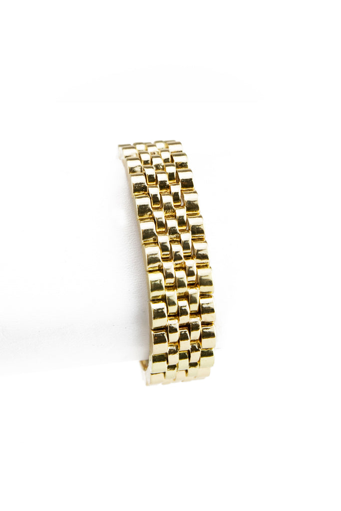 SOLID GOLD ROLEX BAND BRACELET