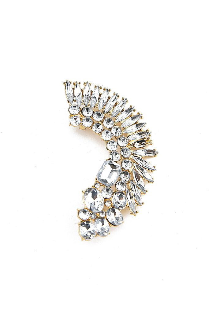 HUNTA CRYSTAL EAR CUFF - Haute & Rebellious