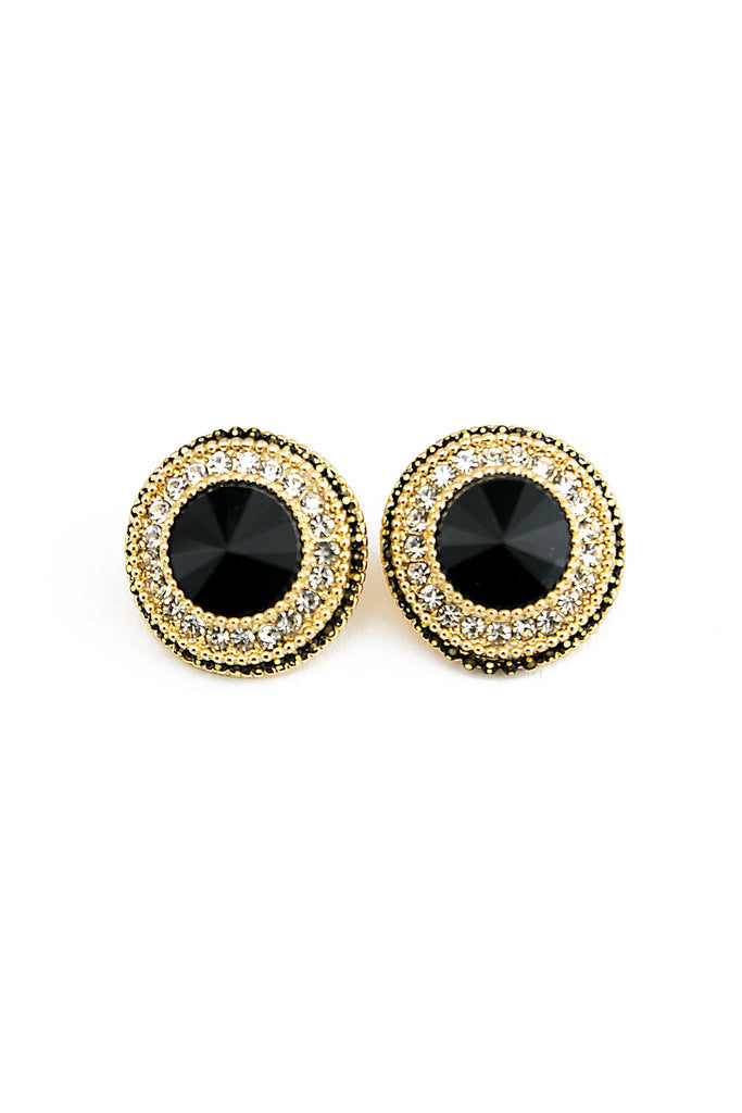 BRAINA STONE STUD EARRINGS