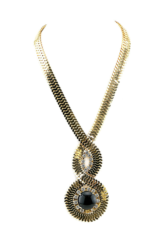 GONA ROPE CHAIN SNAKE NECKLACE - Haute & Rebellious