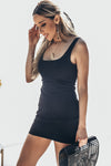Mini Dress - Black