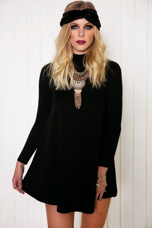 Alari Long Sleeve Shift Dress - Haute & Rebellious