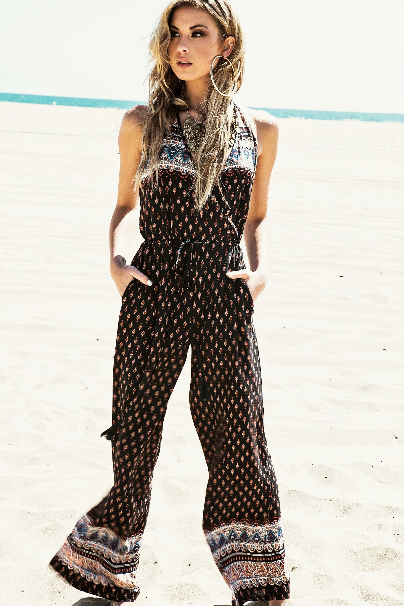 Alinah Tribal Jumpsuit /// Only 1-S Left ///